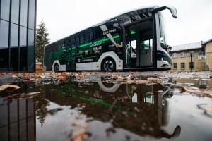 Pristatytas elektrinis autobusas