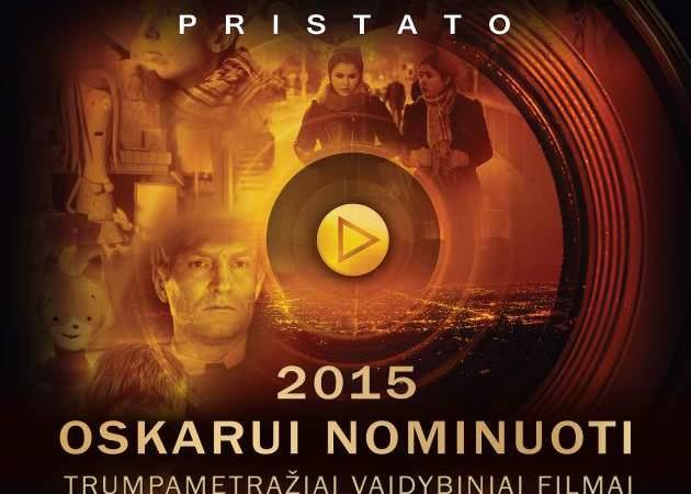 Pirmą kartą Lietuvoje – 2015 metais Oskarams nuominuoti trumpametražiai didžiuosiuose kino ekranuose