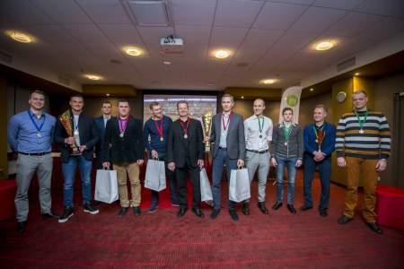 Turnyro nugalėtojai (organizatorių nuotr.)