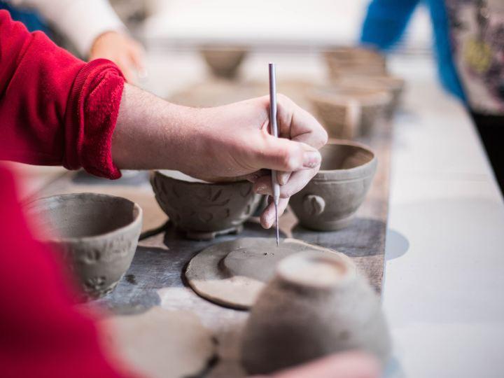 Keramikos dirbtuvės vaikams ir tėvams
