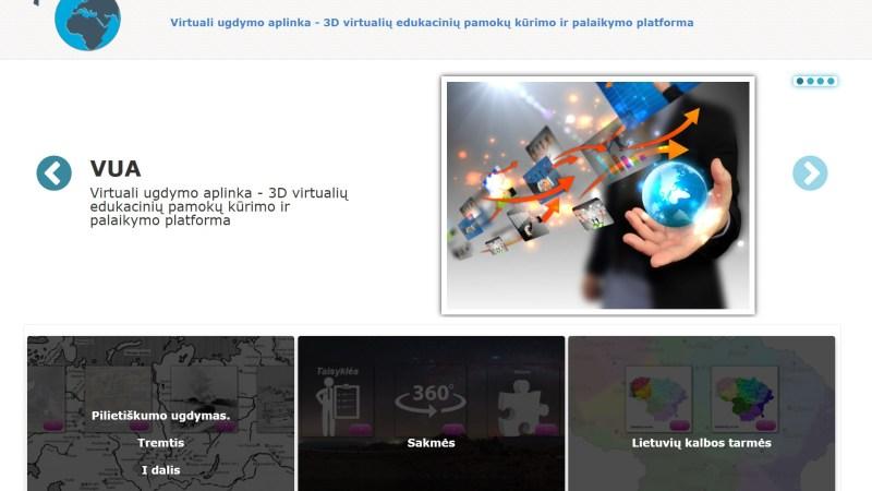 Atnaujinta virtualaus ugdymo platforma vua-mokykloms.lt
