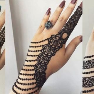 easy style mehndi