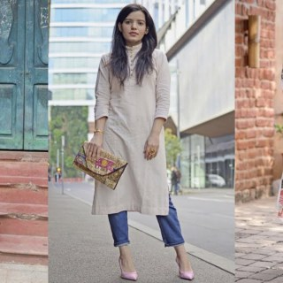 Kurti with jeans