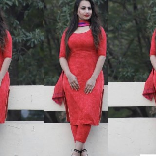 Plain Punjabi Suits