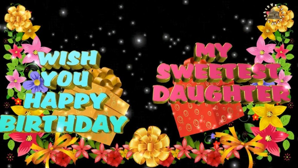 Greetings for the Birthday of your loving Daughter