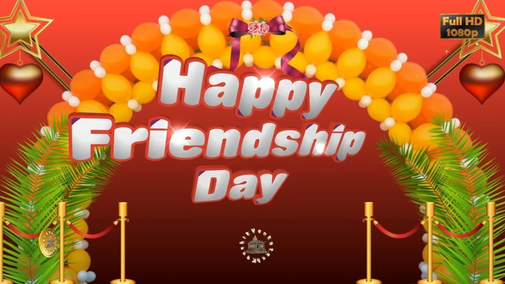 Greetings for Friendship Day event