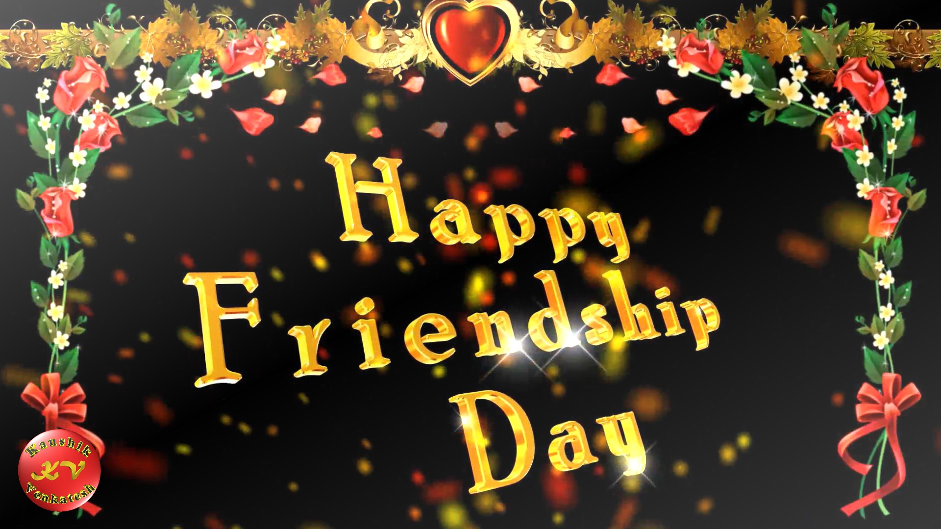 Greetings for the Special event of friends