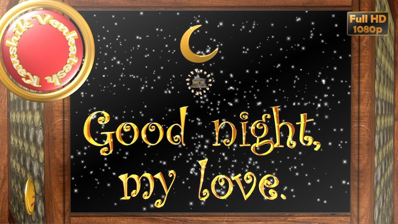 Greetings to Wish Good Night