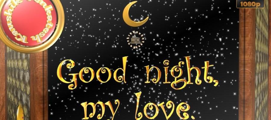 Greetings to Wish Good Night