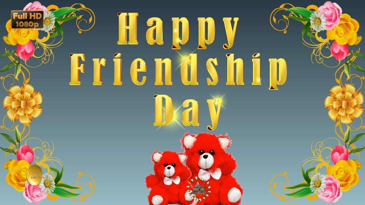 Greetings for the Friendship Day event.