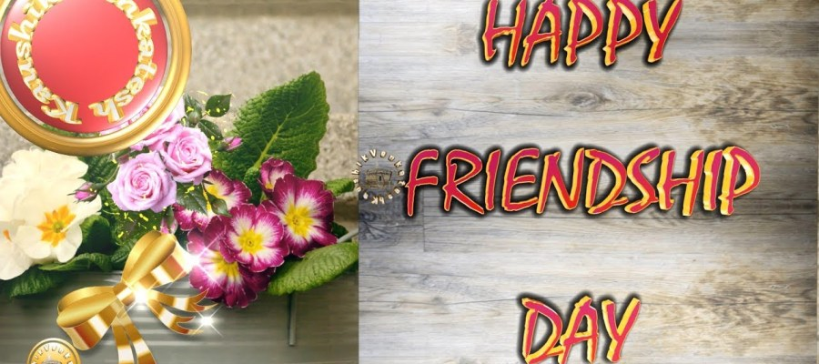 Greetings for the special event of friends - Friendship Day.