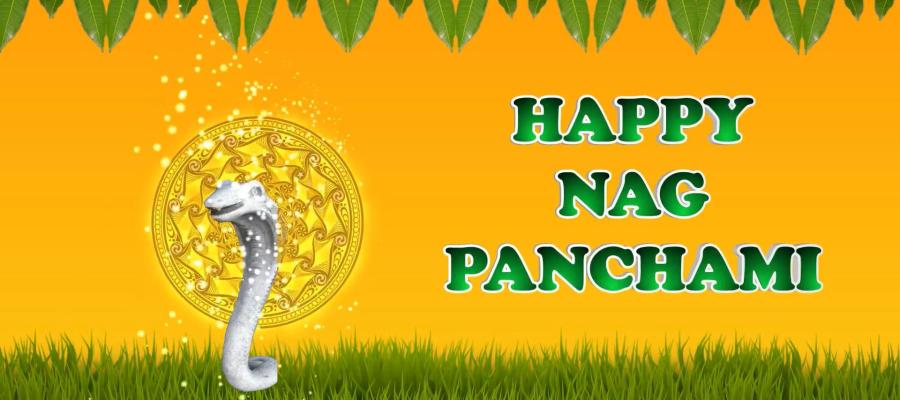 Greetings for the festival of snake God - Nag Panchami.