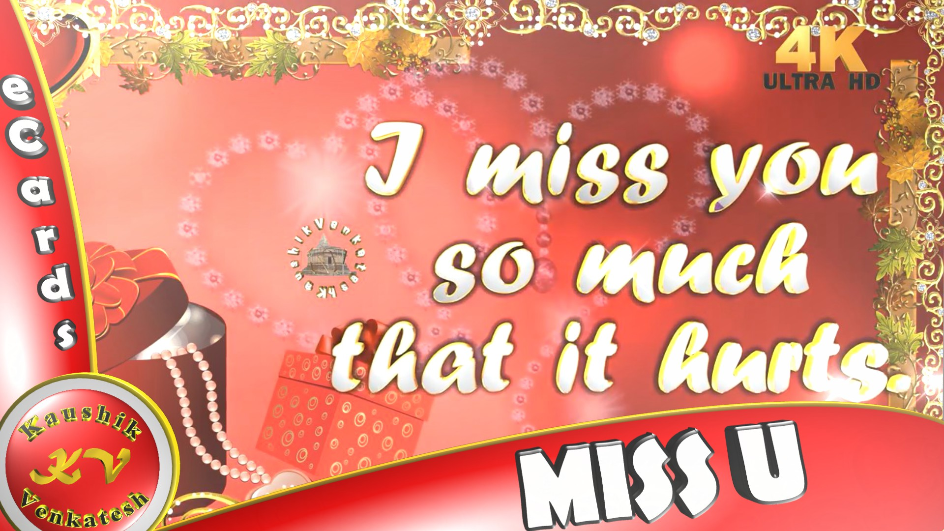 """Greetings to Express """"I Miss You"""""""