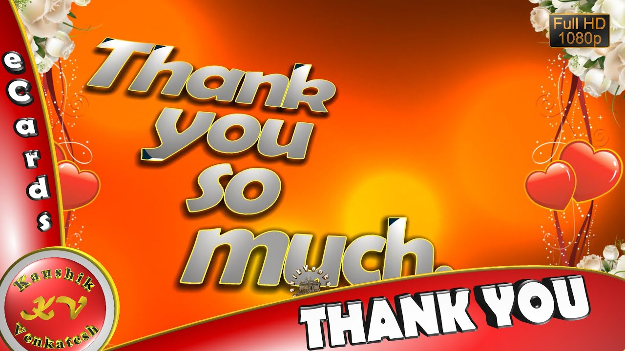 Greetings to Thank