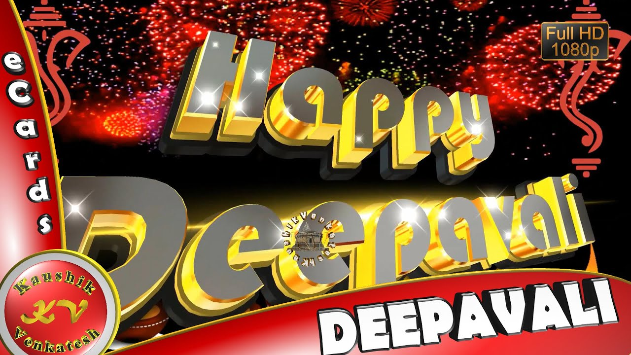 Greetings for major Indian festival of Hindus - Diwali or Deepavali.