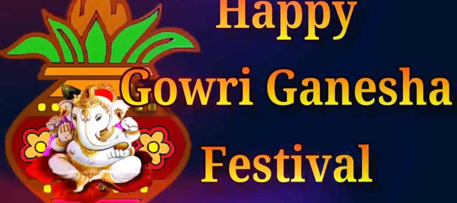 Greetings for Gowri Ganesha Festival