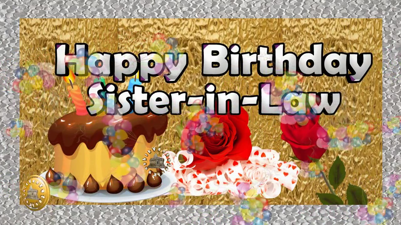 Greetings Image for Sister in Law's Birthday