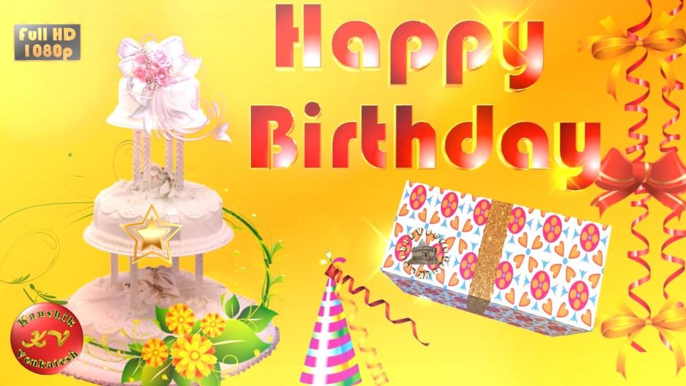 Greetings Image for Birthday celebration.