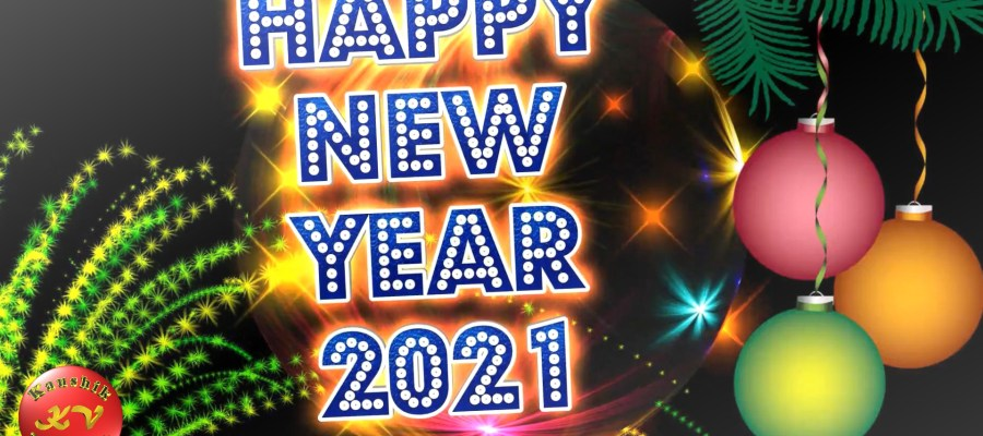 Greetings Image for the Special annual event of New Year 2021