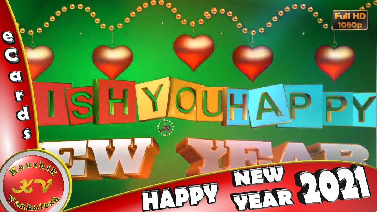 """Greetings for the annual special event """"New Year"""""""