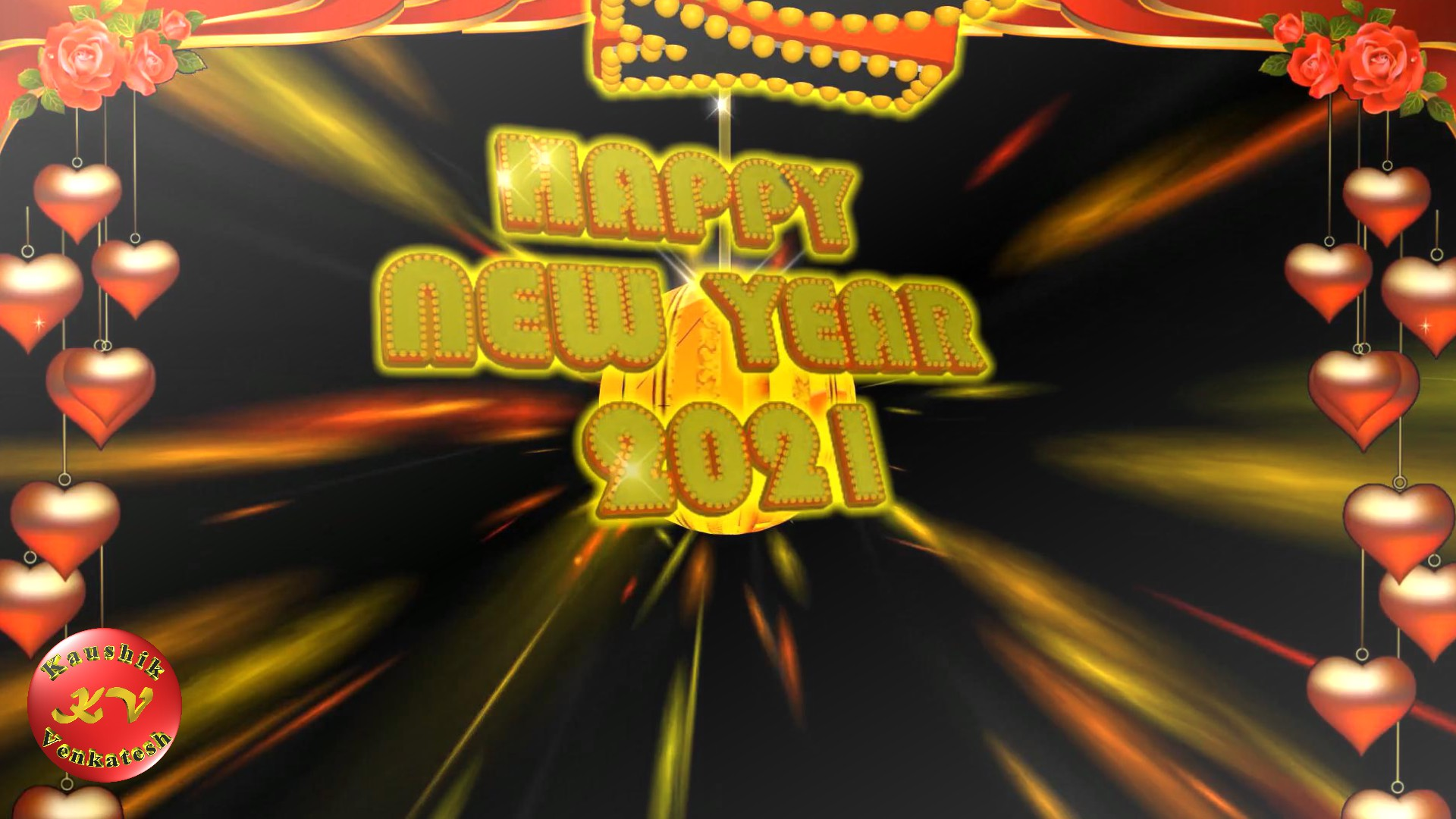 Greetings Image for the New Year 2021