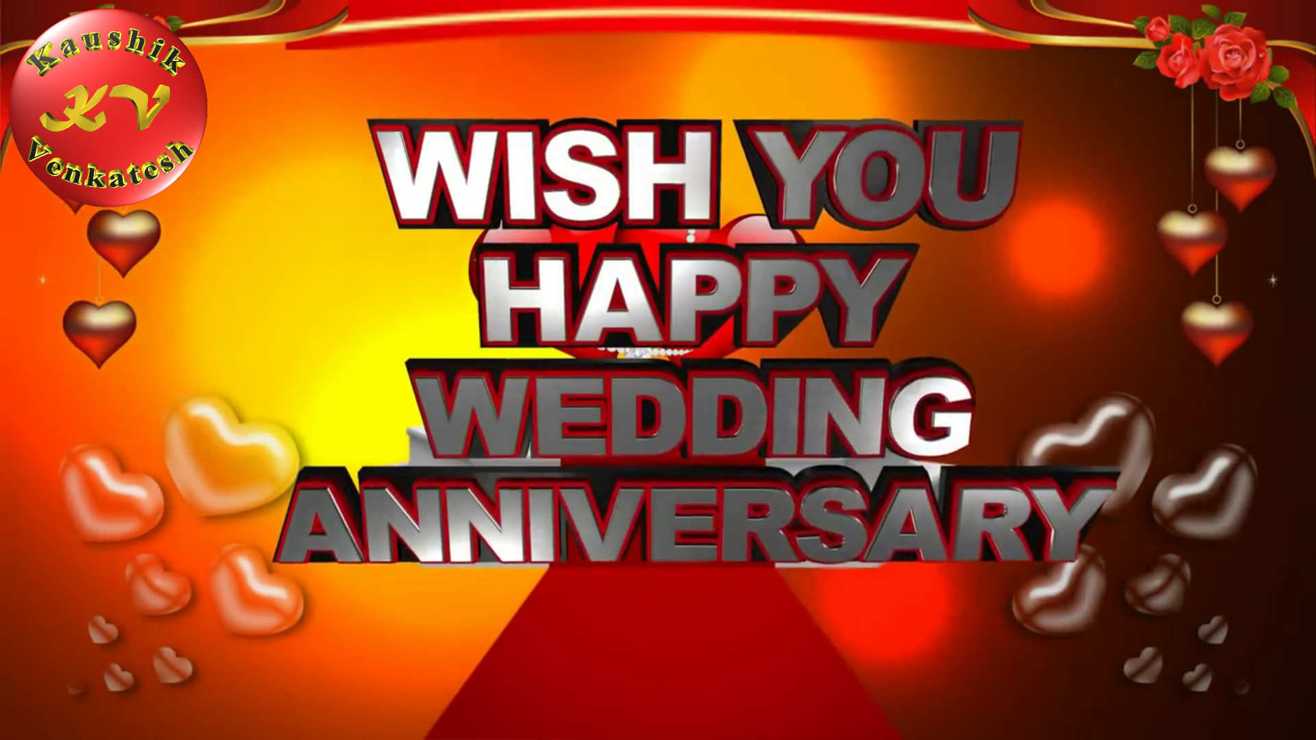 Greetings Image of Free Animated Wedding Anniversary Ecards