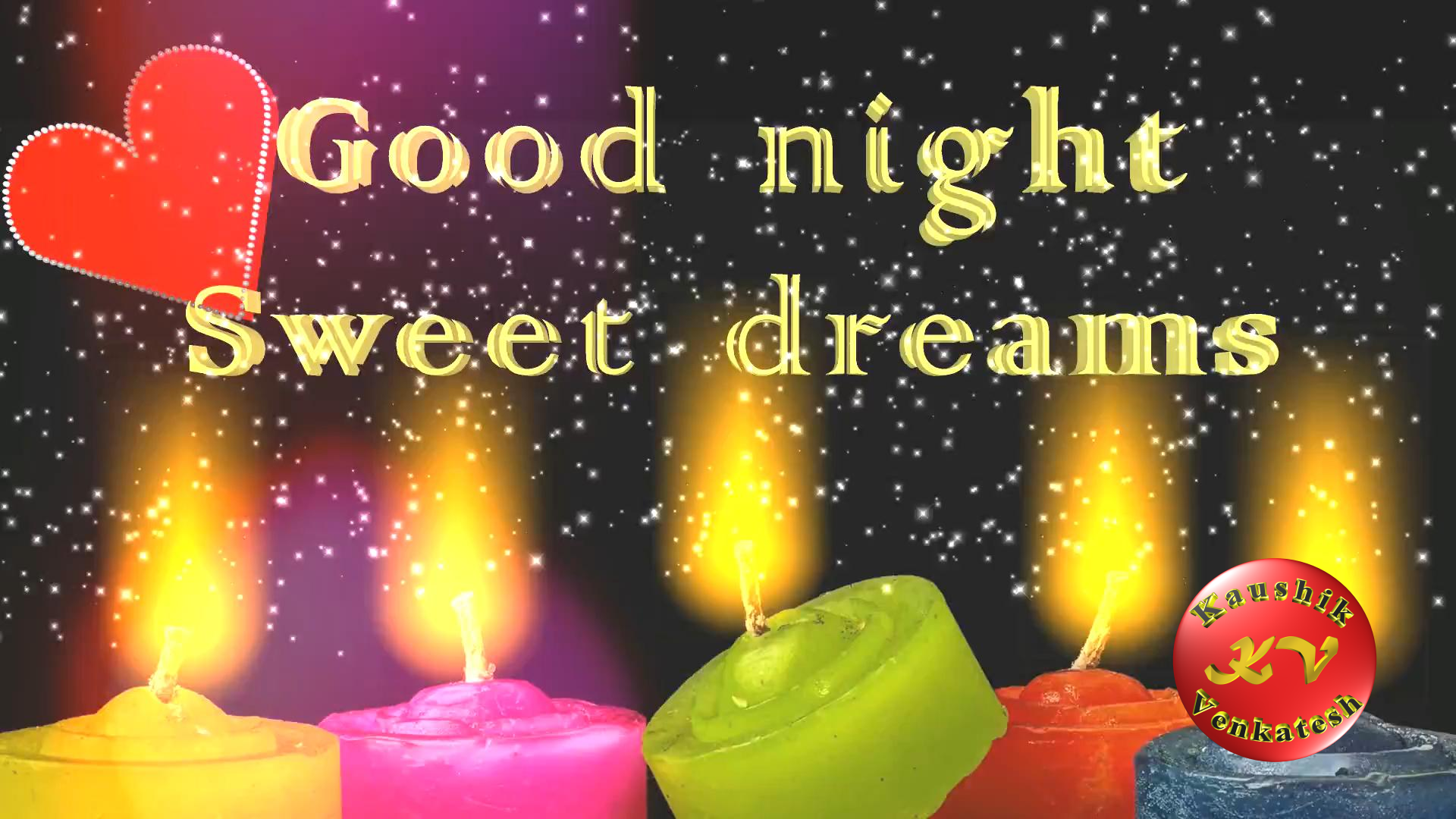 Greetings Image of Good Night Wishes Video