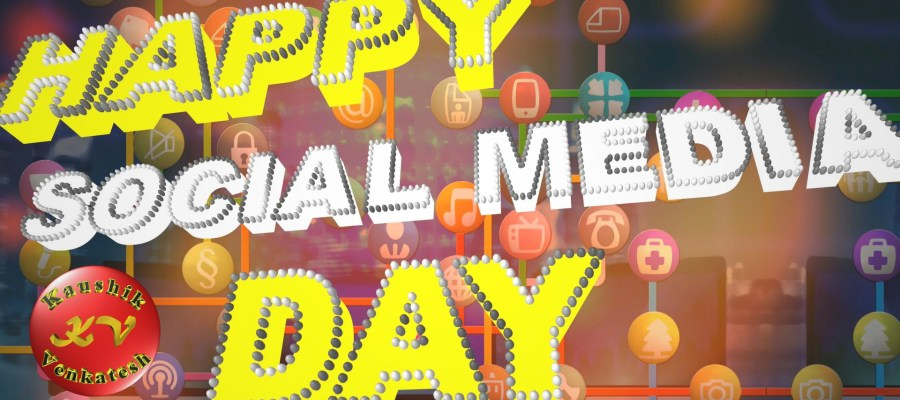 Image of Happy Social Media Day Video