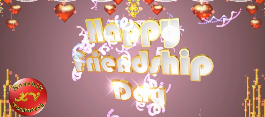 Image of Happy Friendship Day Animated