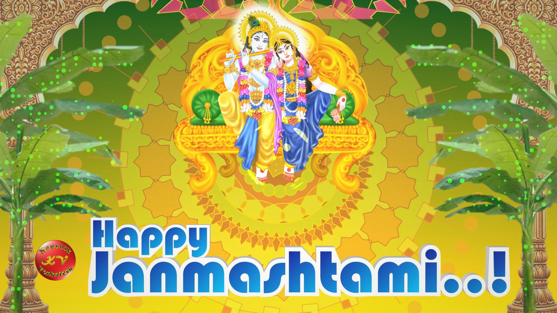 Latest Greetings Image of Krishna Janmashtami Video Greetings