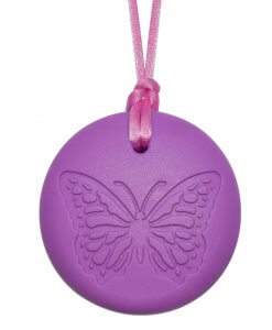 Munchables Butterfly Pendant Purple