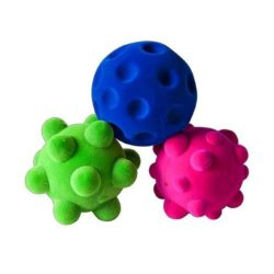 Set van 3 Rubbabu Mini Ballen