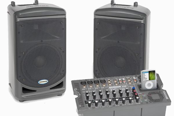 500 watt powered speakers