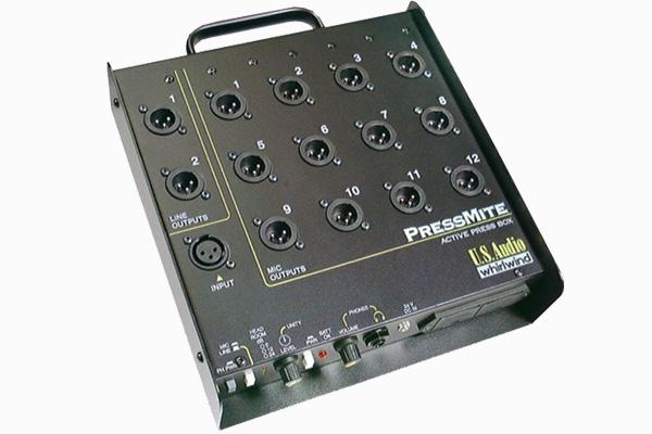 DI, press box, adaptors