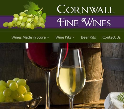 Cornwall fine wines