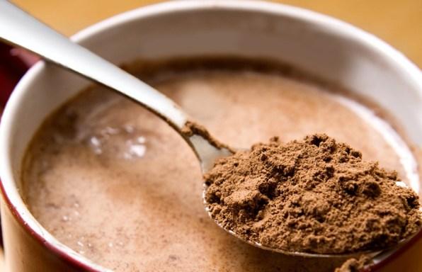 Kávé forró csokoládéval és vaníliával