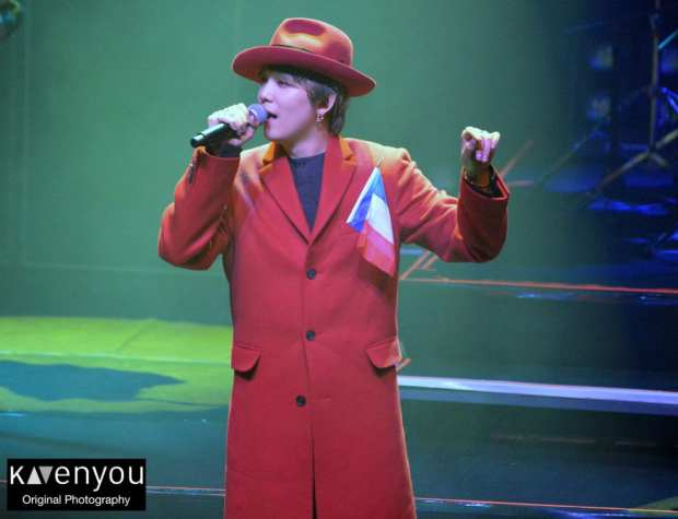 Hongki at La Cigale