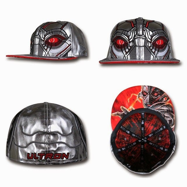 Marvel's Avengers Age of Ultron Armor 59Fifty Caps by New Era - Ultron