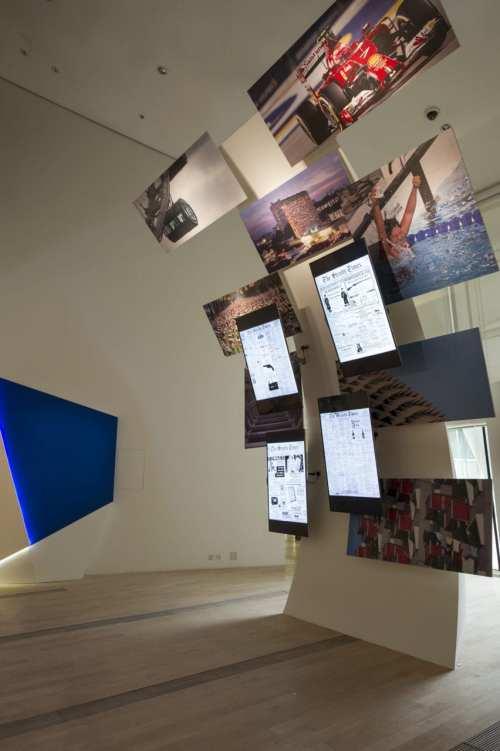 Entrance to Singapore STories- Then, Now, Tomorrow exhibition
