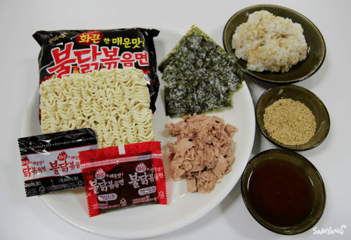 buldak rice rolls ingredients