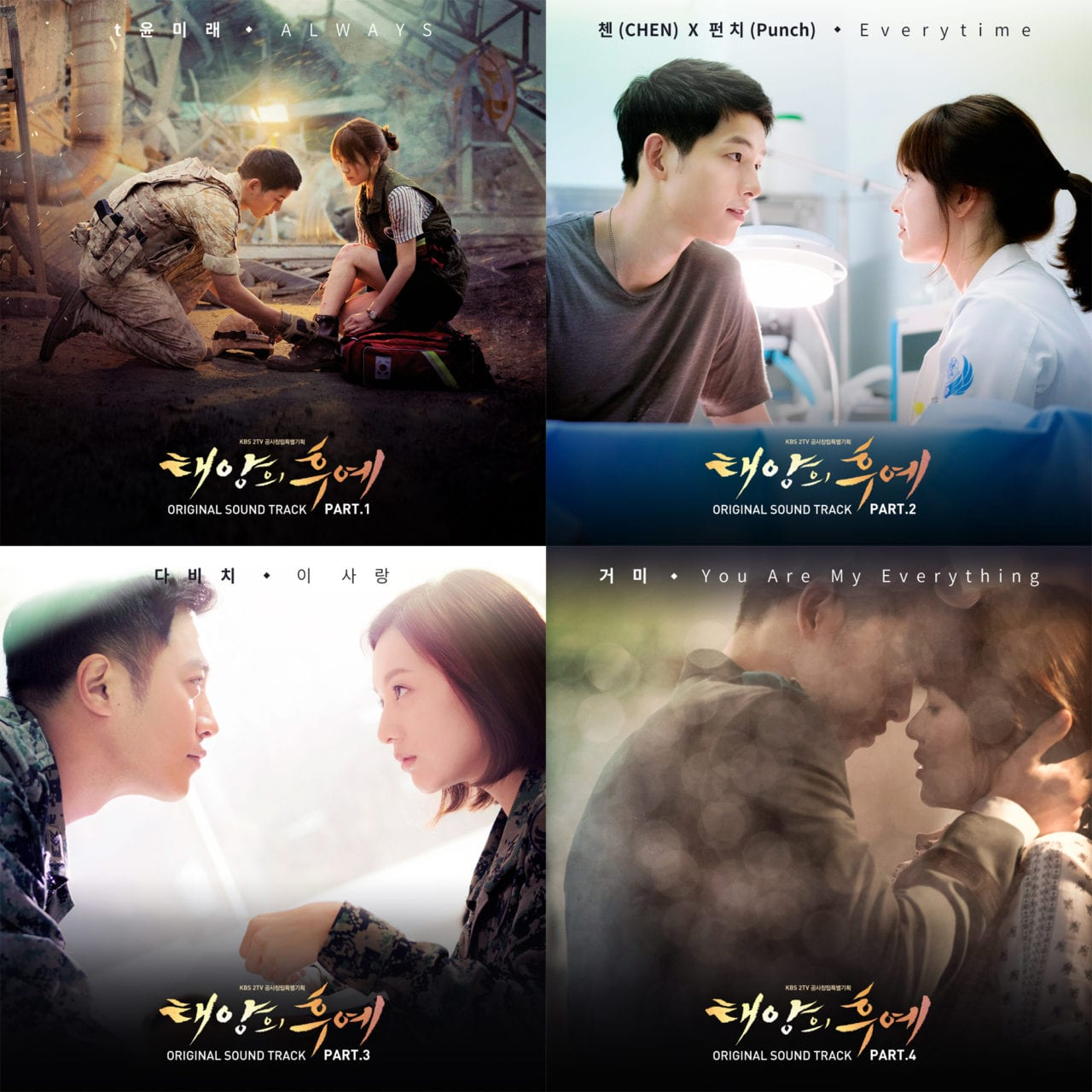 Korean Drama Descendants Of The Sun