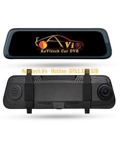 Camera hành trình Kavitech 10DVR6M kẹp gương 10