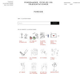 A collection of illustrations that I've made for presentaitons available for free - kafl.dk