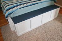Storage Bench (For the Foot of the Bed) | The Letter K