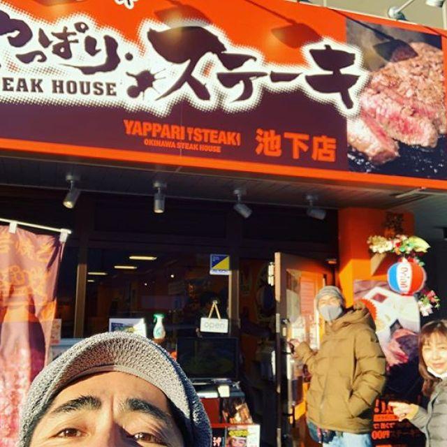 無事、名古屋で合流を果たしたぱんぱかトリオ。まずは肉で腹ごしらえ!#美味しいもの #食べて何が悪い