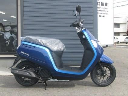 新車 ホンダ DUNK(ダンク) ブルー ライトサイド