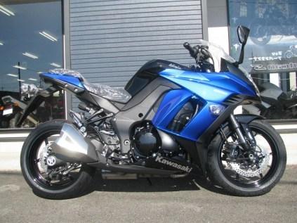 新車 カワサキ NINJA1000 ABS ブルー/ブラック ライトサイド