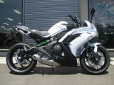 カワサキ NINJA400 ホワイト