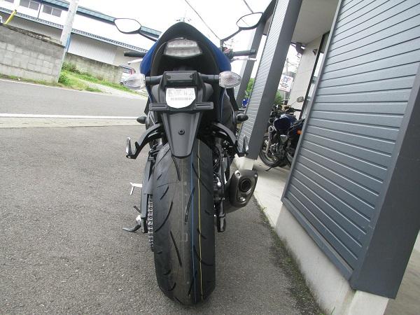 新車 スズキ GSX-S1000F ABS ブルー リヤサイド