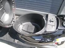 ヤマハ JOGZR ブラック シートボックス(シート下収納)